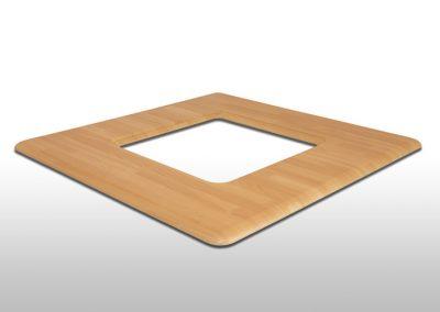 MDF Tischplatte