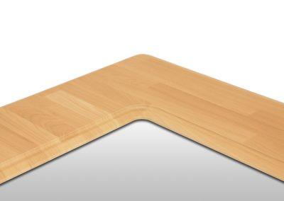 MDF Tischplatte Detail